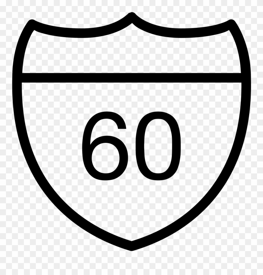 Sign in icon clipart image free Highway Sign Icon - Road Clipart (#1498711) - PinClipart image free