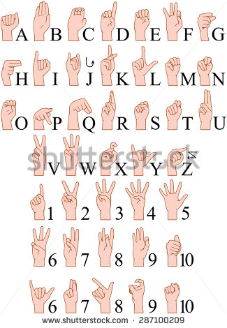 Sign language alphabet clipart clipart royalty free Sign Language Alphabet Stock Images, Royalty-Free Images & Vectors ... clipart royalty free