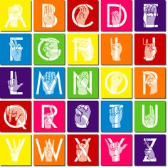 Sign language alphabet clipart fro kids png free download Children's Sign Language Poster See our amazing American Sign ... png free download
