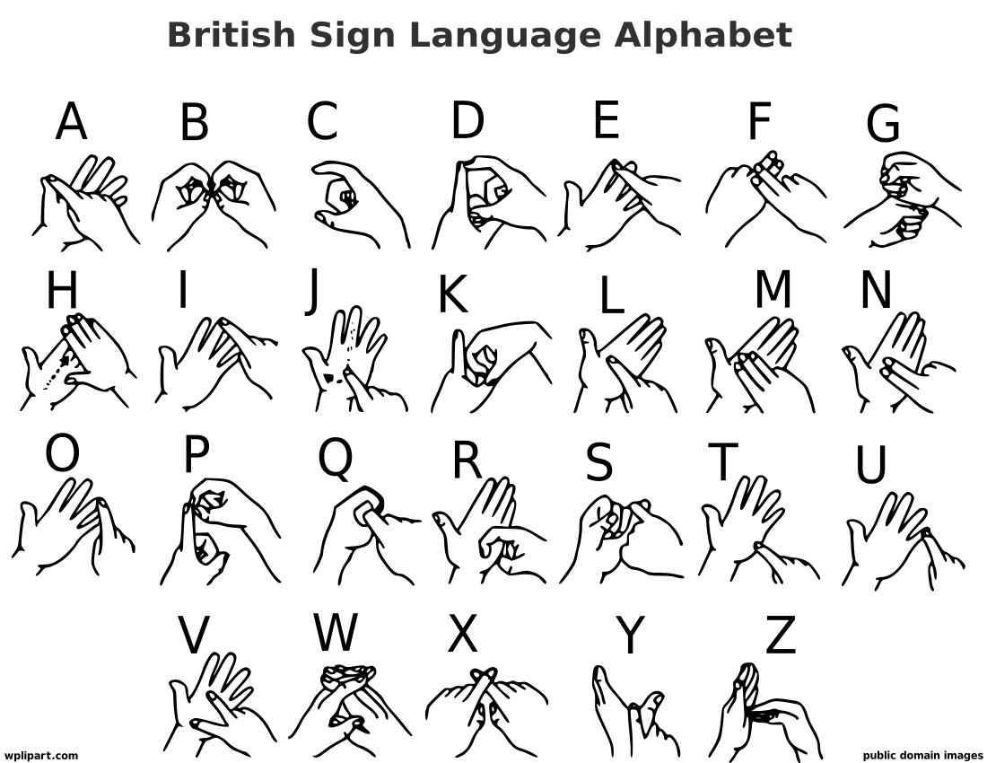 Sign language alphabet clipart gif png black and white download AppZUMBi! Apps, News, Games, Clipart png black and white download