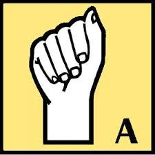 Sign language alphabet clipart gif png black and white library Sign Language Alphabet Graffiti Style! Letter A | Steadfast Sign ... png black and white library