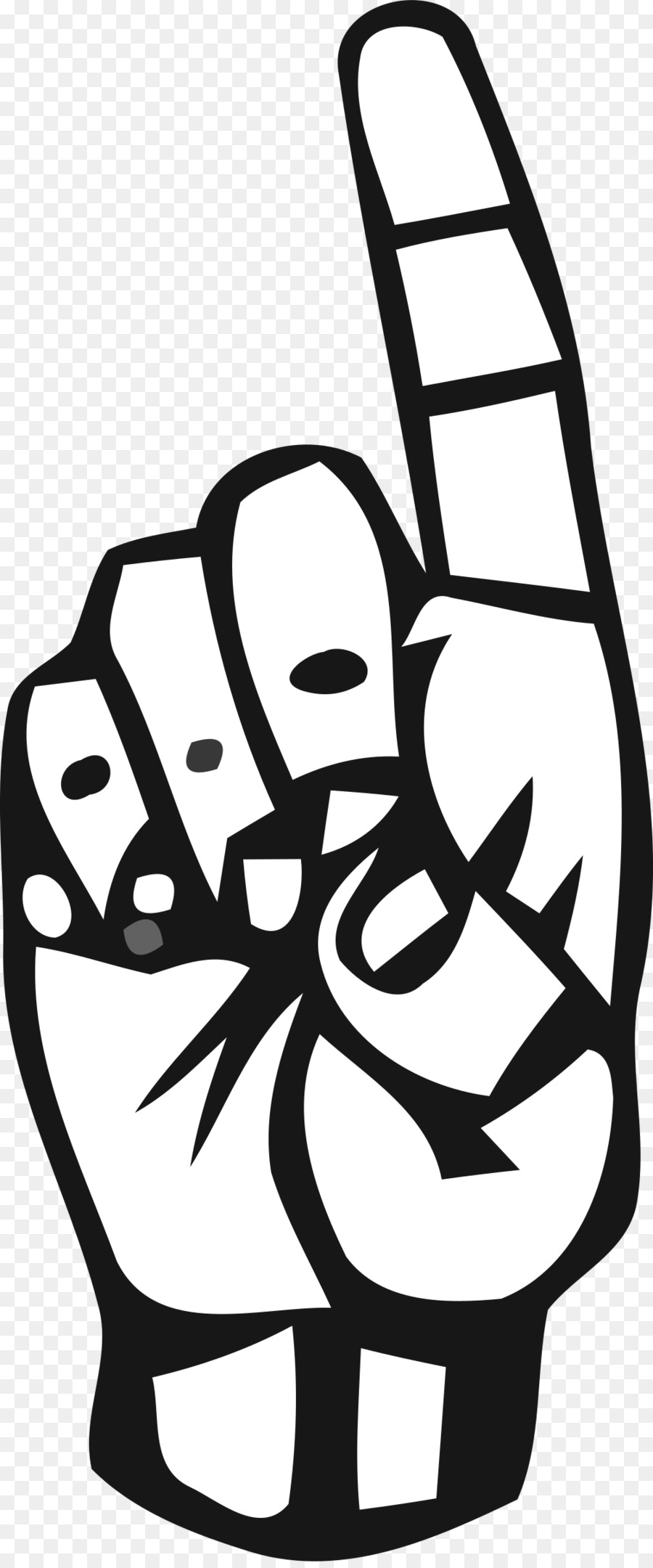 Sign language clipart black and white vector logo graphic transparent library American Sign Language Face png download - 1004*2400 - Free ... graphic transparent library