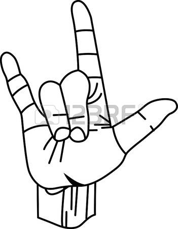 Sign language clipart i love image royalty free stock 190 I Love You Sign Language Stock Illustrations, Cliparts And ... image royalty free stock
