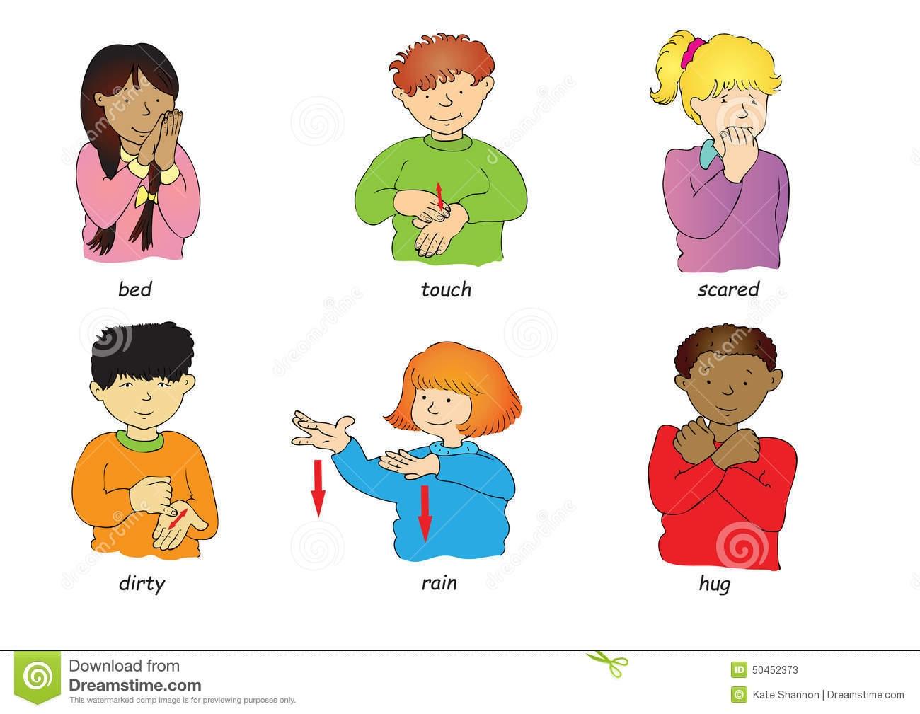Sign language clipart kids jpg royalty free library Sign Language Clipart Kids - clipartsgram.com jpg royalty free library