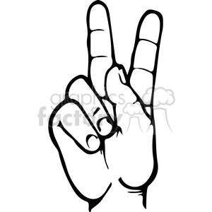 Sign language clipart letter 0 vector royalty free library Royalty-Free sign language letter K 167499 vector clip art image ... vector royalty free library