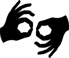 Sign language clipart letter 0 jpg free library Sign language clipart letter 0 - ClipartNinja jpg free library
