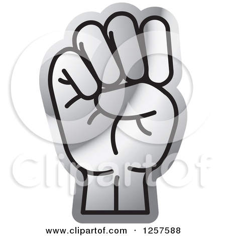 Sign language clipart letter e graphic stock Clipart of a Silver Sign Language Hand Gesturing Letter E ... graphic stock