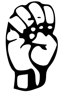 Sign language clipart letter e jpg royalty free Tux Paint - Stamp Browser - symbols (1-10) jpg royalty free