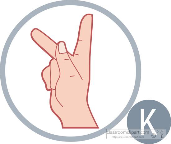 Sign language clipart letter k clipart freeuse library American Sign Language : sign-language-letter-k : Classroom Clipart clipart freeuse library