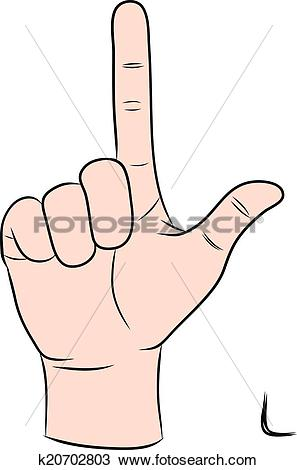 Sign language clipart letter l image freeuse download Clipart of Sign language and the alphabet,The Letter L k20702803 ... image freeuse download