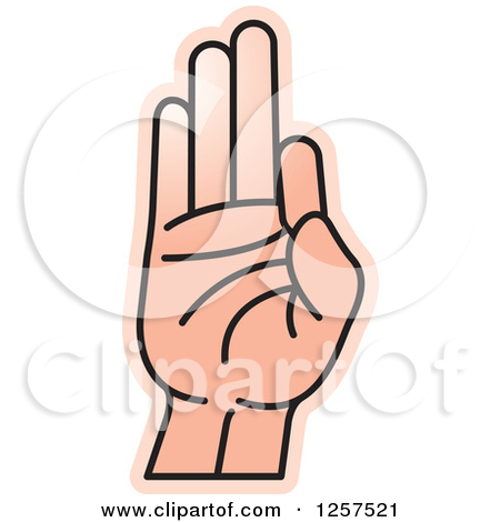 Sign language clipart letter l clip art royalty free download Clipart of a Sign Language Hand Gesturing Letter L - Royalty Free ... clip art royalty free download
