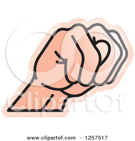 Sign language clipart letter n svg freeuse download Clipart of a Sign Language Hand Gesturing Letter N - Royalty Free ... svg freeuse download