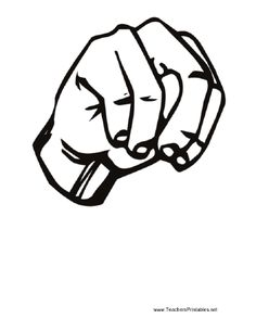 Sign language clipart letter n clip freeuse stock Sign language clipart letter n - ClipartFox clip freeuse stock