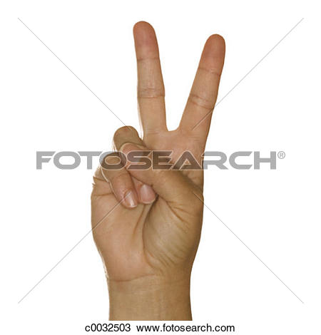 Sign language clipart letter v svg free stock Stock Photo of A woman's hand signing the letter V using American ... svg free stock