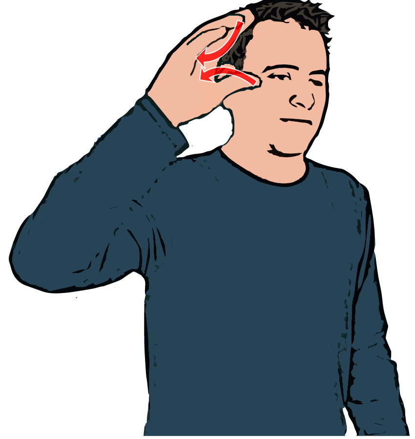 Sign language clipart pictures banner freeuse Learn - British Sign Language Dictionary | Sign language | Pinterest ... banner freeuse