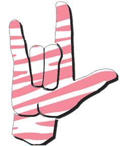 Sign language i love you clipart freeuse download I Love You Sign Language Clip Art   ASL Clip Art 5-4 I Love You ... freeuse download