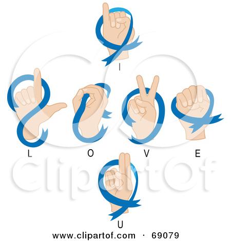 Sign language i love you clipart clip black and white download Sign language i love you clipart - ClipartFest clip black and white download