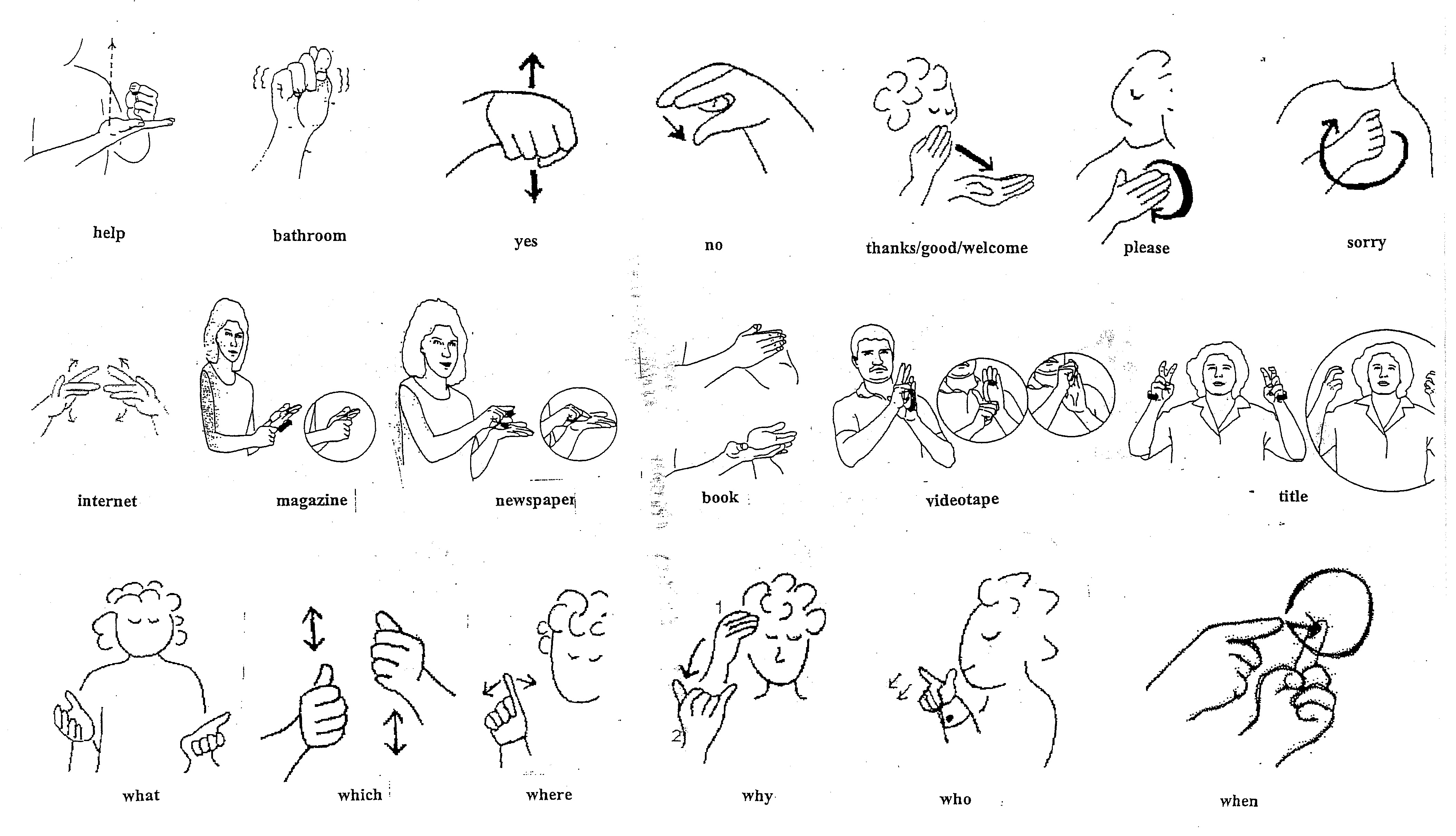 Sign language more clipart clipart library Asl dictionary clipart - ClipartFest clipart library