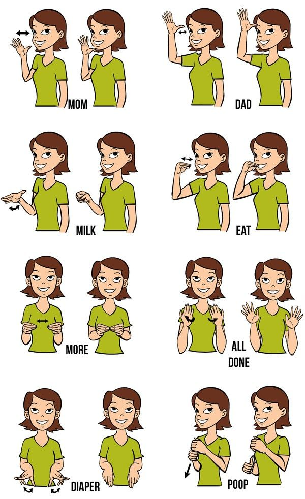 Sign language more clipart clip art black and white download 1000+ ideas about Baby Sign Language on Pinterest | Teaching baby ... clip art black and white download