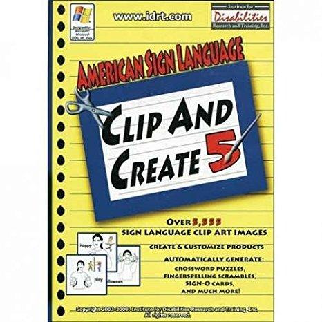 Sign language more clipart graphic transparent library Amazon.com: American Sign Language Clip and Create 5 - ASL Clip ... graphic transparent library