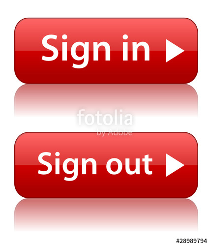 Sign out clipart royalty free SIGN IN\
