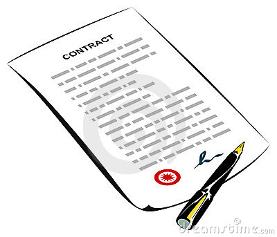 Signed contract clipart clipart free library Signed contract | Clipart Panda - Free Clipart Images clipart free library