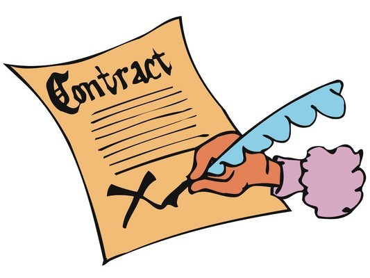 Signed contract clipart picture black and white download Signed contract clipart 3 » Clipart Portal picture black and white download