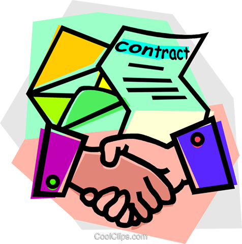 Signed contract clipart graphic black and white Collection of Contract clipart | Free download best Contract ... graphic black and white