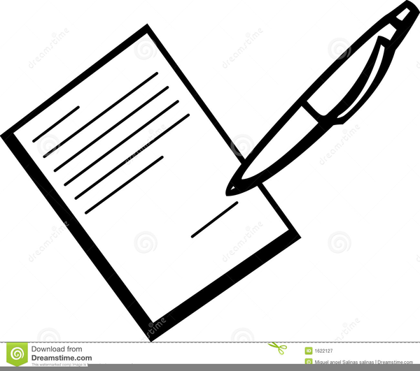 Signing clipart vector Signing clipart » Clipart Portal vector