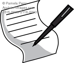 Signing clipart clip black and white library Signing clipart 2 » Clipart Portal clip black and white library