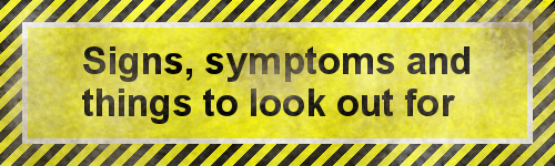 Signs and symptoms clipart clipart library Signs, symptoms and things to look out for | Panacea Healing ... clipart library