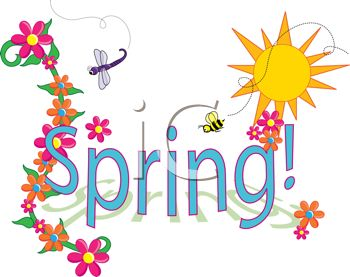 Signs of spring clipart clip art Spring clip art sign - 15 clip arts for free download on EEN clip art