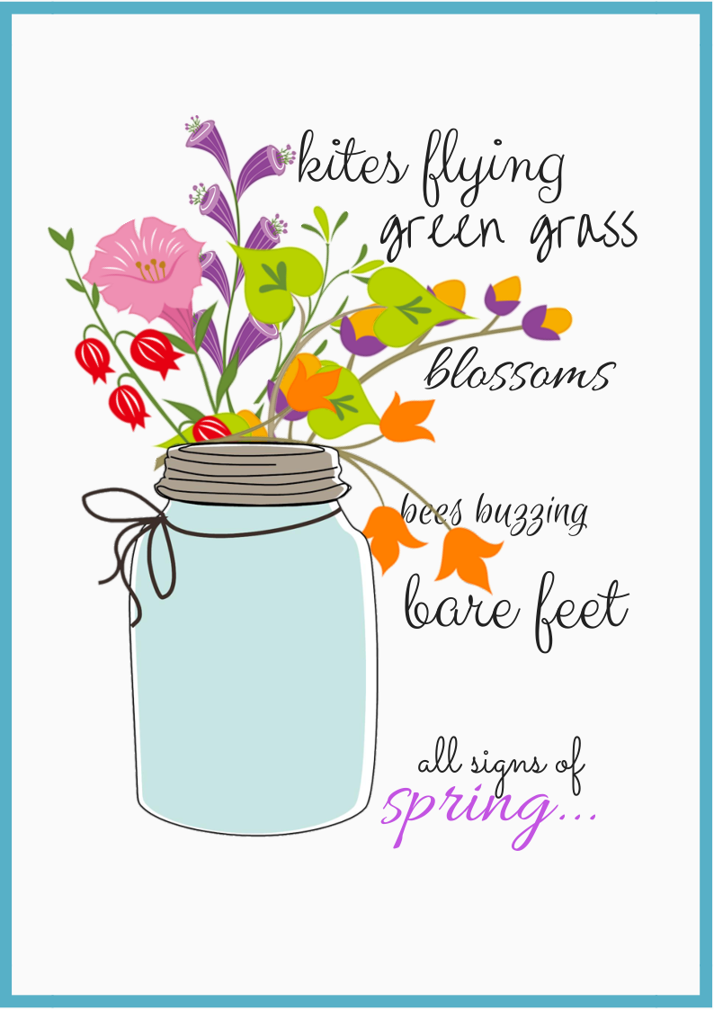 Signs of spring clipart vector transparent download Signs of Spring\