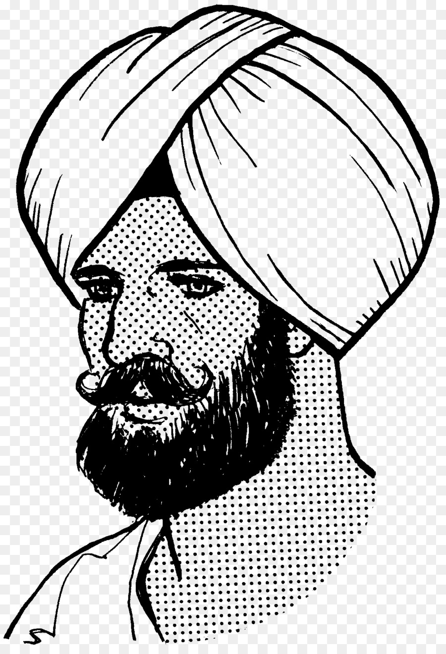Sikh clipart clip art library download Hair Cartoon png download - 1242*1817 - Free Transparent ... clip art library download