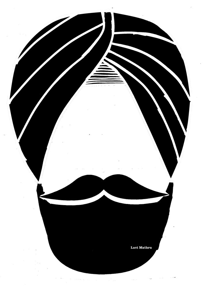 Sikh clipart graphic royalty free stock Sikh Clipart | Lavi Mathru | Flickr graphic royalty free stock