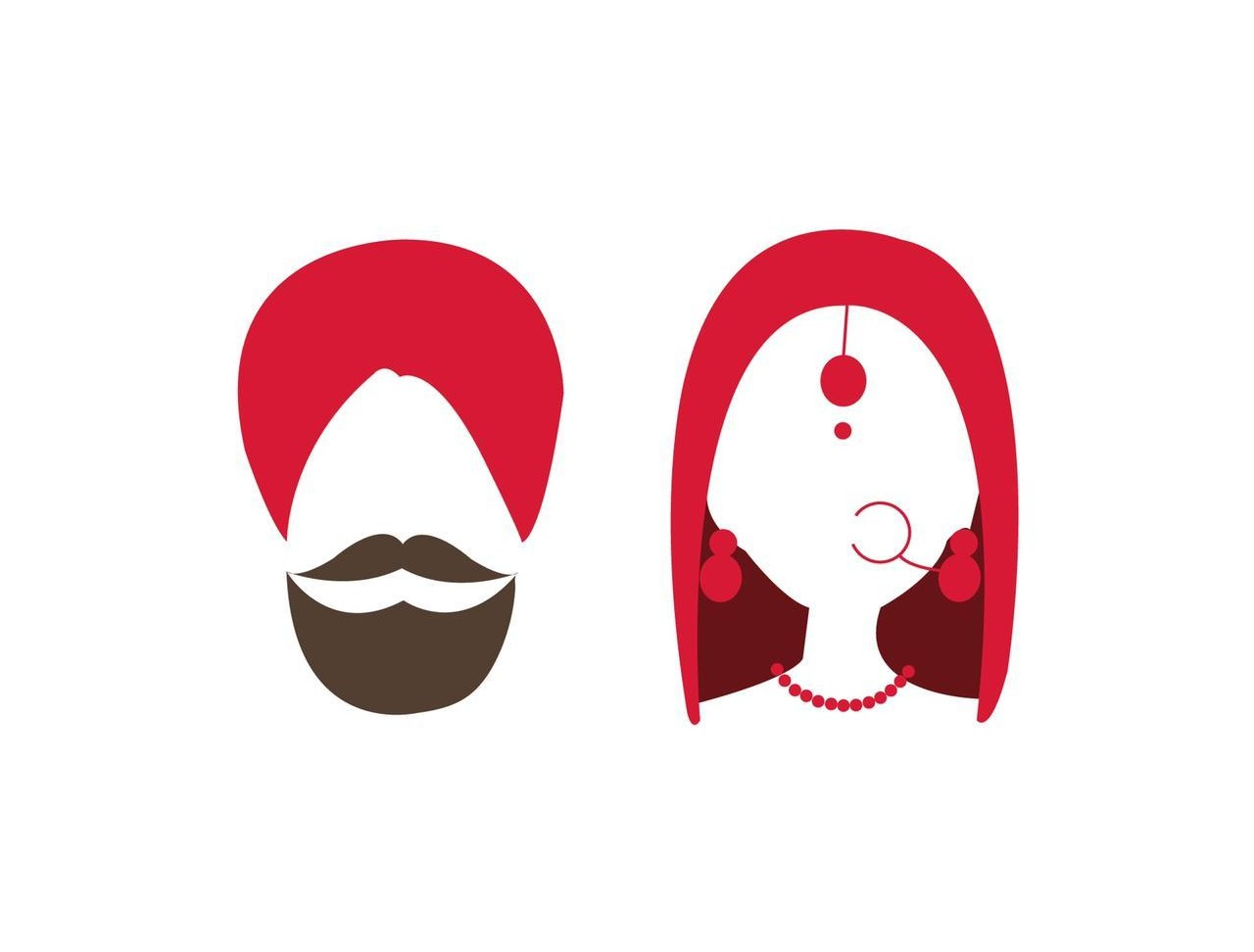 Milni clipart jpg freeuse download Neha & Navdeep — Minted jpg freeuse download