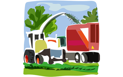 Silage tractor clipart png free Time to preserve with ProMyr™ png free