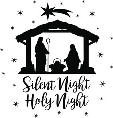 Silent night holy night clipart jpg royalty free download Search photos \