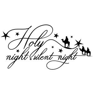 Silent night holy night clipart svg library download holy night silent night | Glowforge | Silhouette design ... svg library download