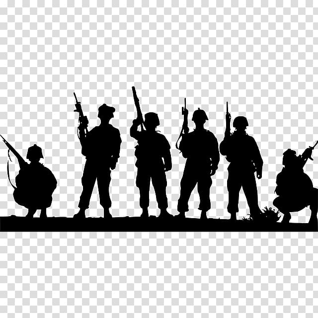 Silhouette clipart military png freeuse stock Soldier Military Silhouette , Military Parade transparent ... png freeuse stock
