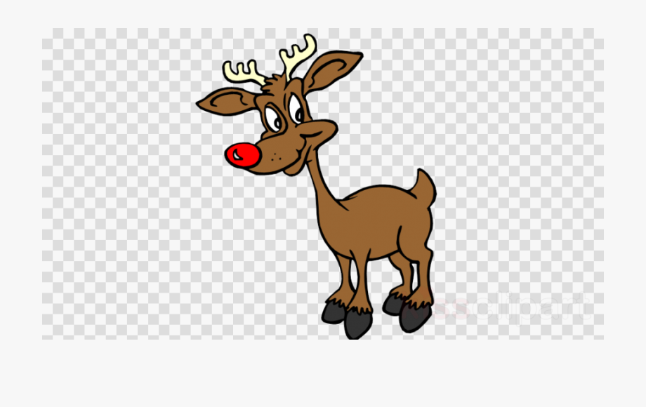 Silhouette clipart rudolph red nosed reindeer clip freeuse download Rudolph The Red Nosed Reindeer Clipart - People Umbrella ... clip freeuse download