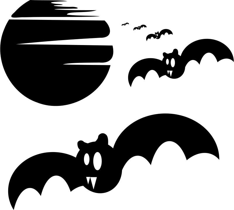 Silhouette clipart spooky svg library Spooky Halloween Clip art - Moon Silhouette Cliparts png ... svg library