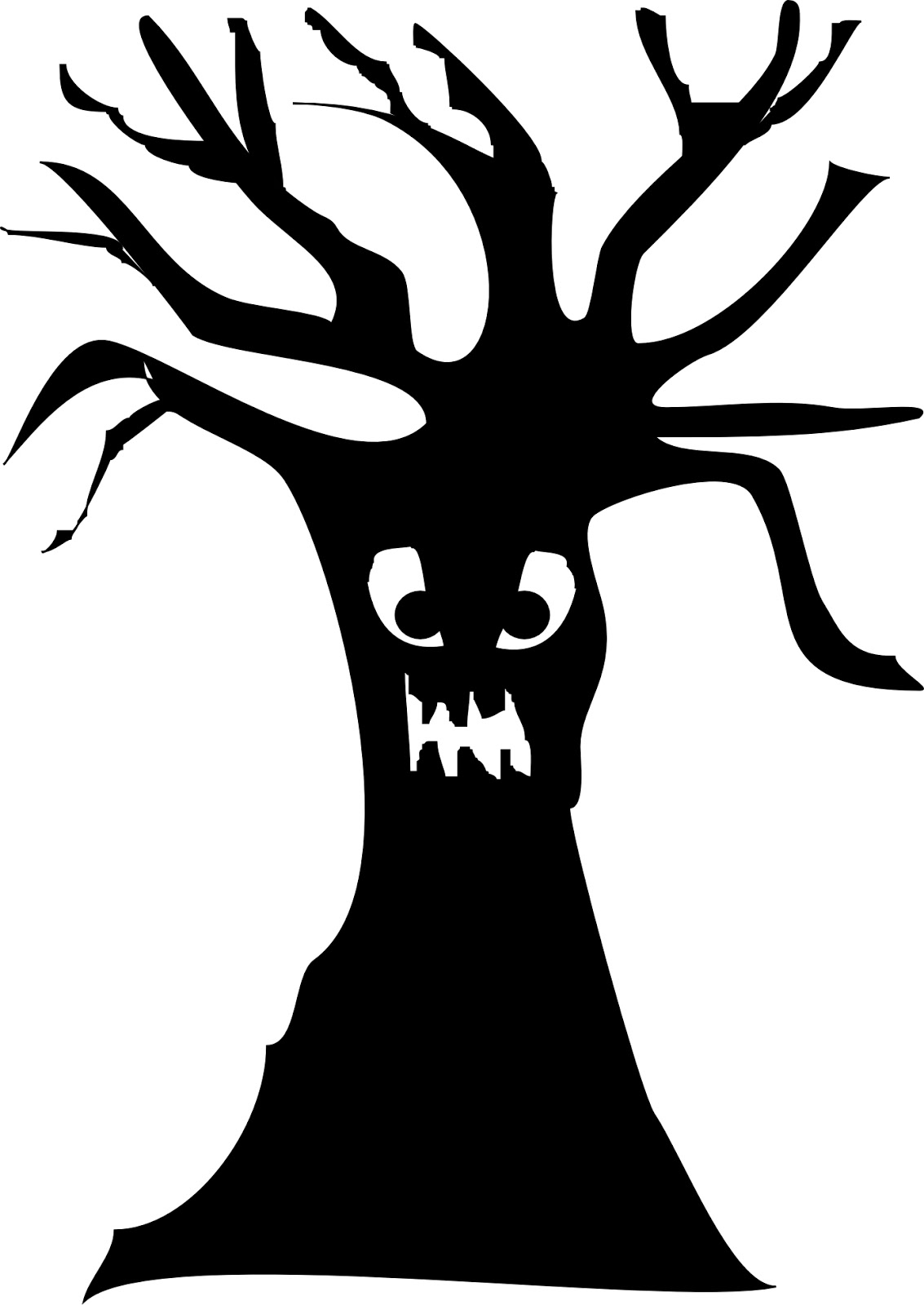 Silhouette clipart spooky clip art library download Free Spooky Tree Clipart, Download Free Clip Art, Free Clip ... clip art library download