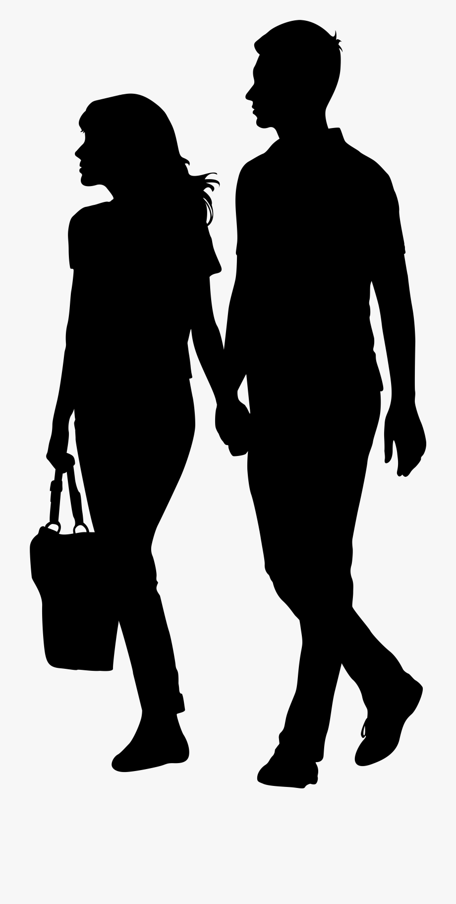 Silhouette clipart transparent background banner stock Walk Clipart Transparent Background Person - People Walking ... banner stock