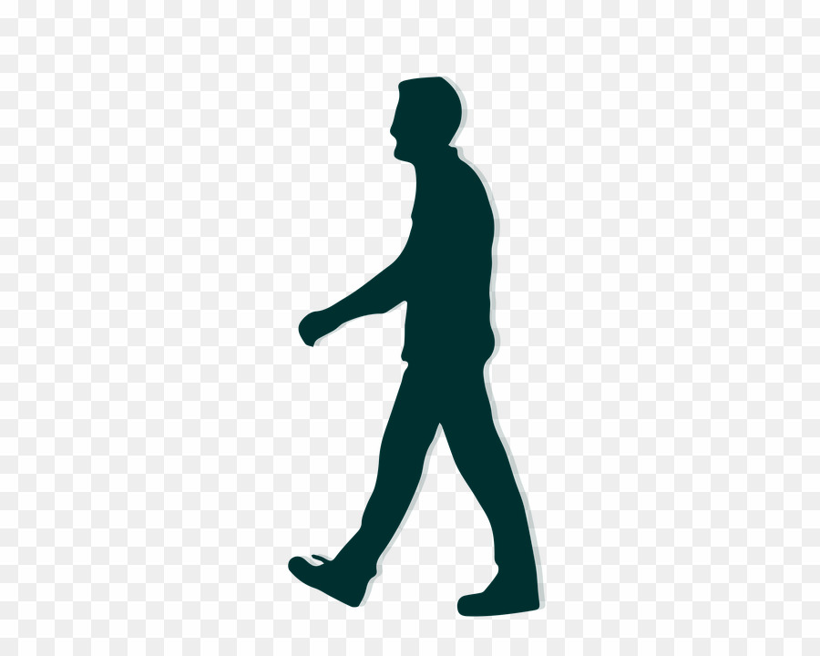 Silhouette clipart transparent background graphic transparent People Walking Silhouette PNG Transparent Background ... graphic transparent