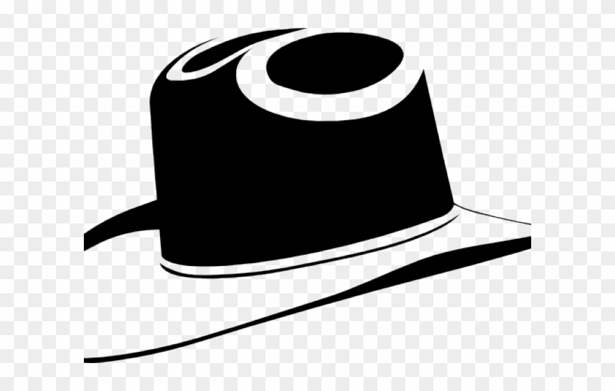 Silhouette cowboy hat clipart black and white clip art transparent library Cowboy Hat Clipart Silhouette - Black Cowboy Hat Clip Art ... clip art transparent library