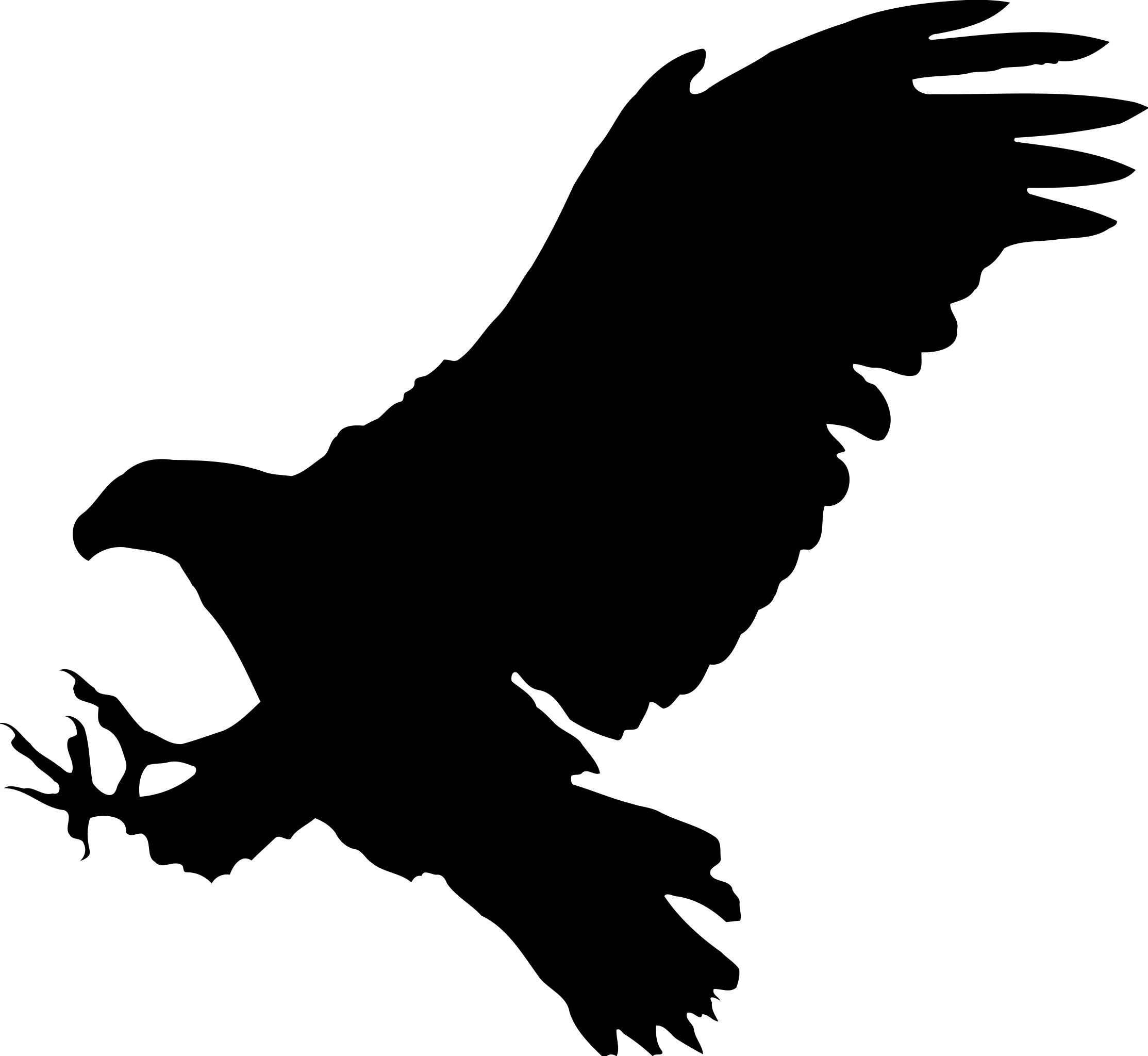 Silhouette eagle clipart png black and white stock Eagle silhouette clipart 4 » Clipart Station png black and white stock