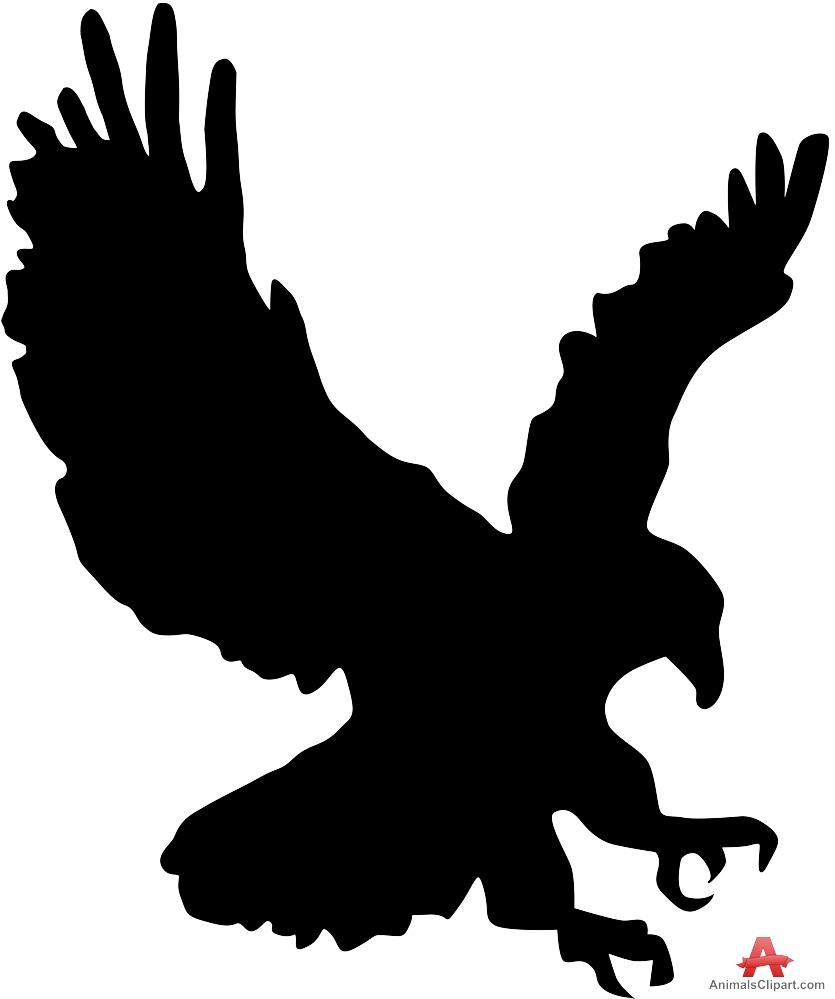 Silhouette eagle clipart clip freeuse stock Free Eagle Silhouette Cliparts, Download Free Clip Art, Free ... clip freeuse stock