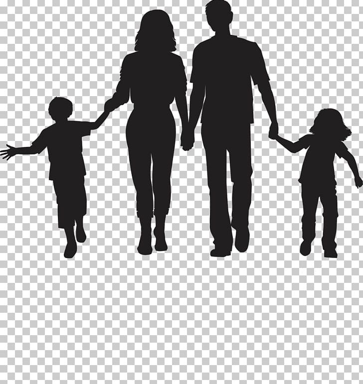 Silhouette of family clipart clip art freeuse stock Silhouette Family PNG, Clipart, Animals, Art, Black And ... clip art freeuse stock