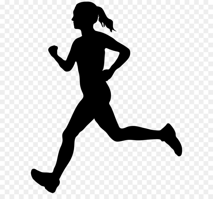 Silhouette of runner clipart stock Free Silhouette Of Runners, Download Free Clip Art, Free ... stock